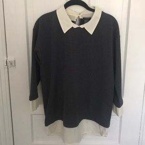 Collared Blouse by Ann Taylor size M